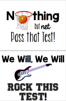 State Exam Motivational Posters