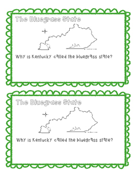 State Fact Book-Kentucky