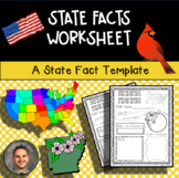 State Facts Worksheet