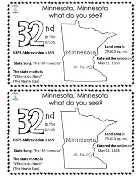 State Facts and Research - Minnesota, Minnesota What Do You See?