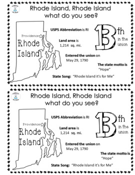 State Facts and Research - Rhode Island, Rhode Island What Do You See?