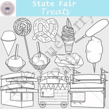 State Fair Treats Clip Art Set