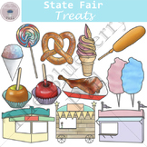 State Fair Treats Clip Art Set