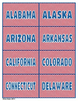 State Flags Match Game