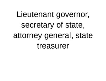 State Government 3 Branches 3 corners sort