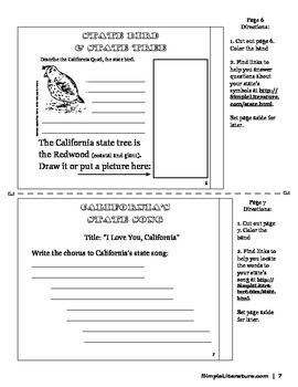 SL State Games: California State Government, Geography, and Facts