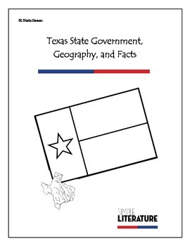 SL State Games: Texas State Government, Geography, and Facts