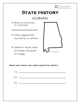 State History: Alabama