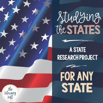 State History Research Project {any state}