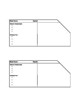 State Identification Worksheet