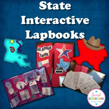 STATE INTERACTIVE LAPBOOK - Facts and Symbols
