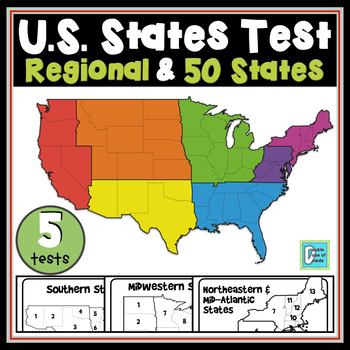 State Location Map Tests