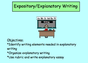 Expository/Explanatory Writing: State-Test-Mandated Writing