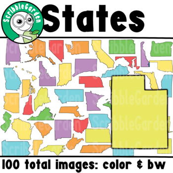 State Maps ClipArt