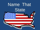 State Maps: Name that State (United States)