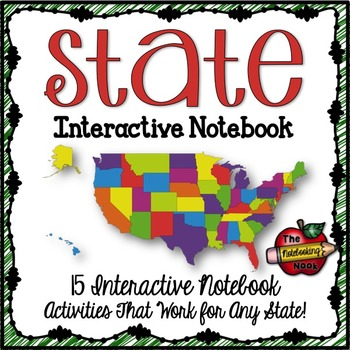 States Interactive Notebook