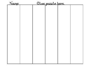 State Name Puzzle- Alaska