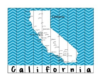 State Name Puzzles- California