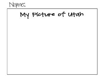 State Name Spelling Puzzle- Utah