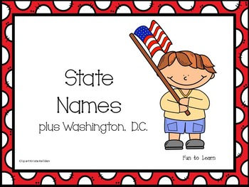 State Name and Abbreviation Flash Cards