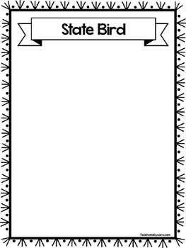 State Notebooking Worksheets. Homeschool, Kindergarten-8th Grade.
