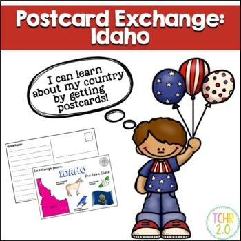 State Postcard Idaho