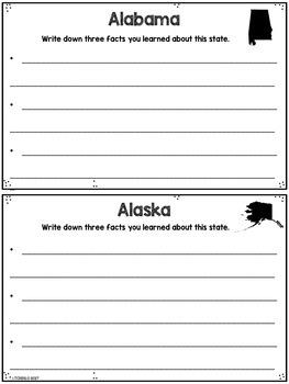State Postcard Washington