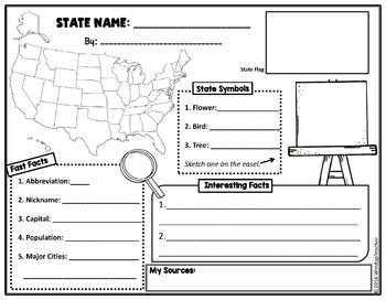 State Poster Activity Page