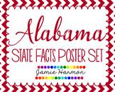 State Poster Set - Alabama