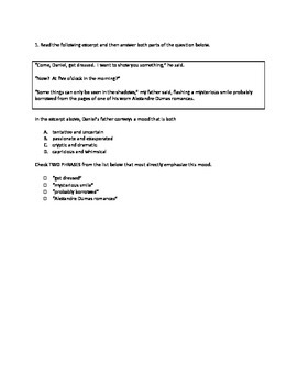 State Practice Assessment for PARCC