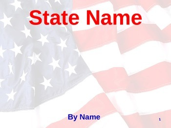 State Presentation Template