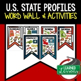 State Profile Posters  (50 States Full Page), United States Activities