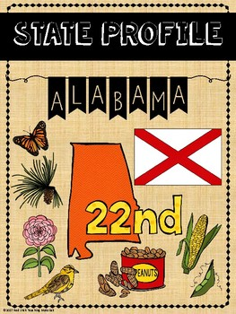 State Profiles: Alabama  Notebooking Pages