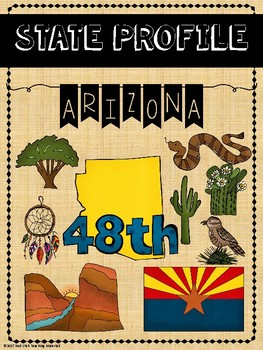 State Profiles: Arizona Notebooking Pages
