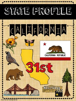 State Profiles: California Notebooking Pages