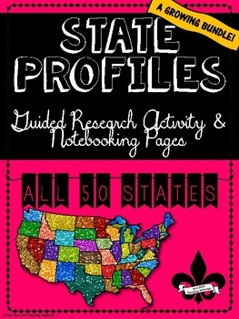 State Profiles Bundle of ALL 50 States!