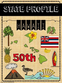 State Profiles: Hawaii Notebooking Pages