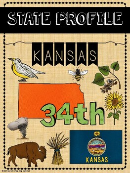 State Profiles: Kansas Notebooking Pages
