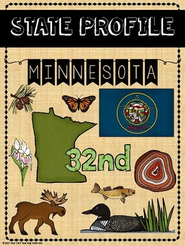 State Profiles: Minnesota Notebooking Pages