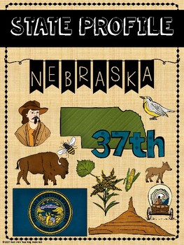 State Profiles: Nebraska Notebooking Pages