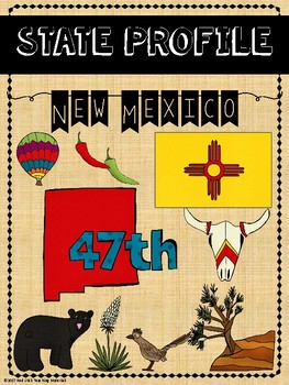 State Profiles: New Mexico Notebooking Pages