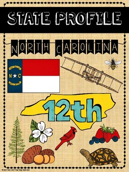 State Profiles: North Carolina Notebooking Pages