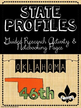 State Profiles: Oklahoma Notebooking Pages