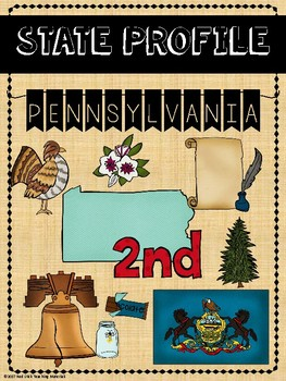 State Profiles: Pennsylvania Notebooking Pages