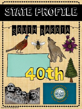 State Profiles: South Dakota Notebooking Pages