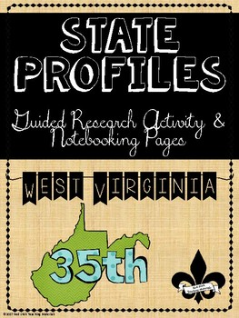 State Profiles: West Virginia Notebooking Pages