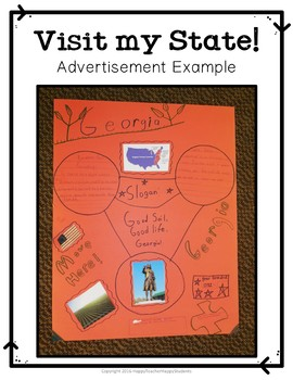 State Research Project: Create a Commercial to Attract Tourists!