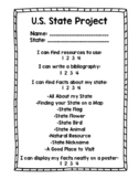 State Project Rubric