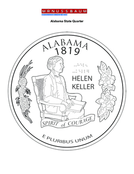 State Quarter Coloring Pages