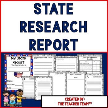 State Research Report Packet
